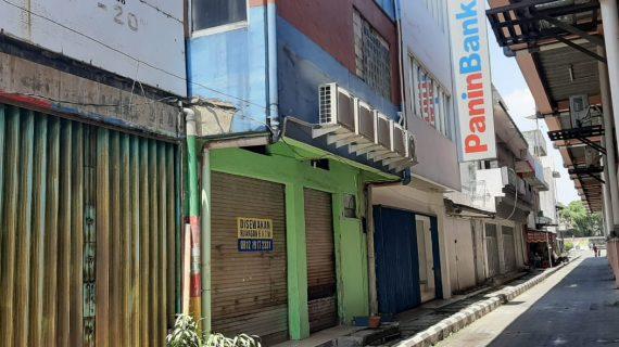 Disewakan Kios Satu Lantai Samping Mall Jambu Dua