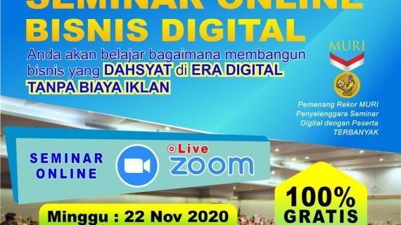 Seminar Bisnis Digital & Umroh BAYAR Setelah Pulang Tanpa DP